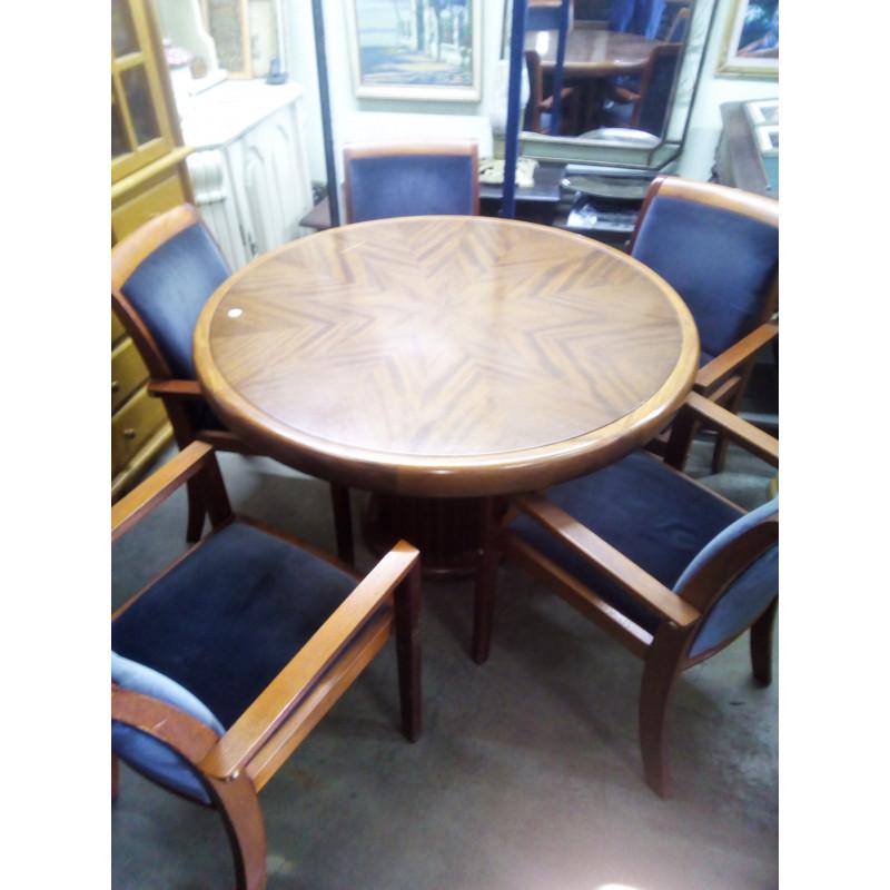 Mesa de jogo 5 CadeirasUsado